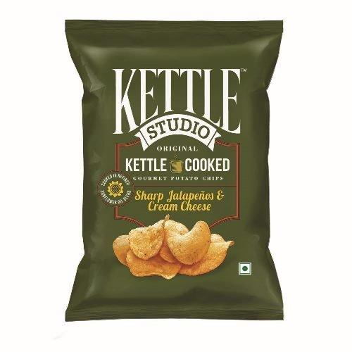 Kettle Studio Sharp Jalapeno and Cheese Cream, (Pack of 5)