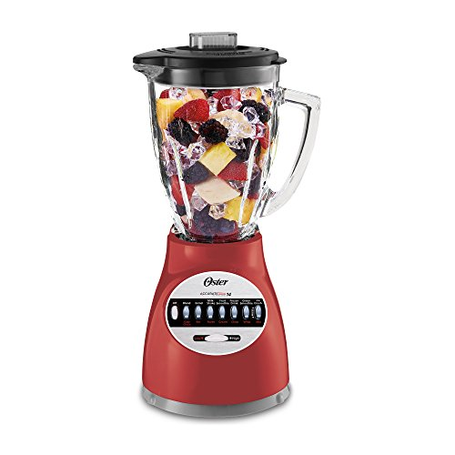 (Oster 006694-R00-R01 14 Speed Culinary Blender, Red)