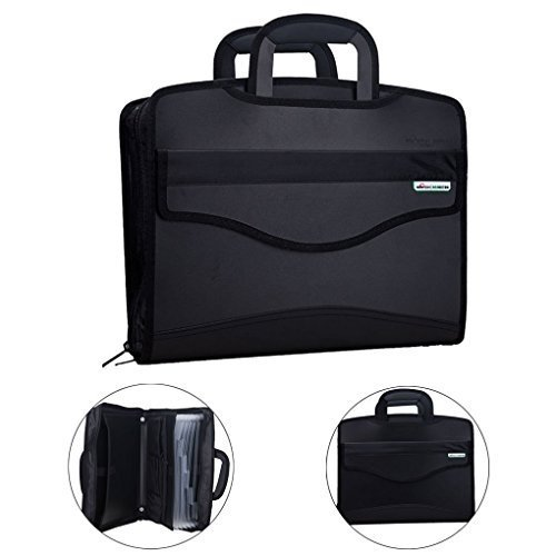 Messenger Briefcase Waterproof Expanding Folder Tote Holder Laptop product image