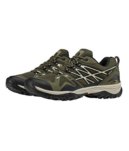 The North Face Hedgehog Fastpack GTX Hiking Shoe - Men's New Taupe Green/TNF Black 13 ()