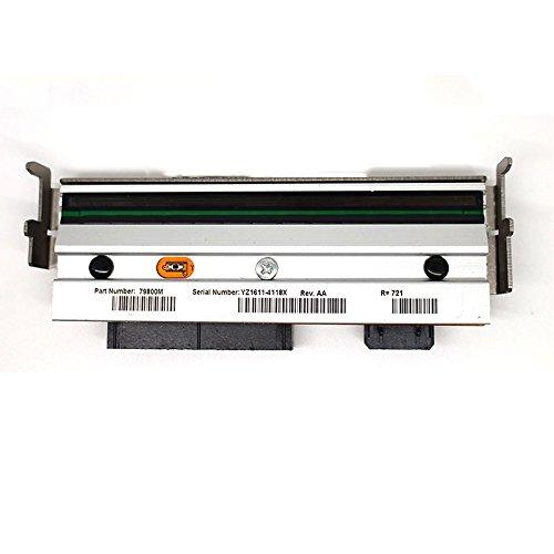 (ZM400 PrintHead for Zebra Barcode Printer 203dpi Direct Thermal Label Part # 79800M)