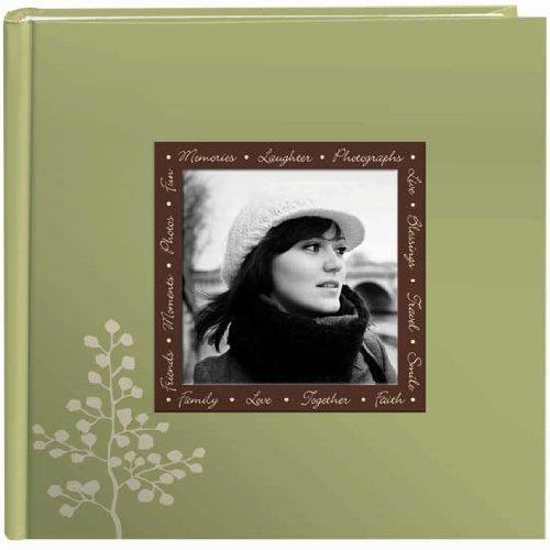 - Pioneer Designer Raised Frame Cover Photo Album, Leaves
