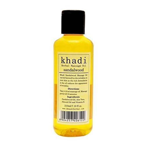 Vagad's Khadi Sandalwood Massage Oil, 210Ml