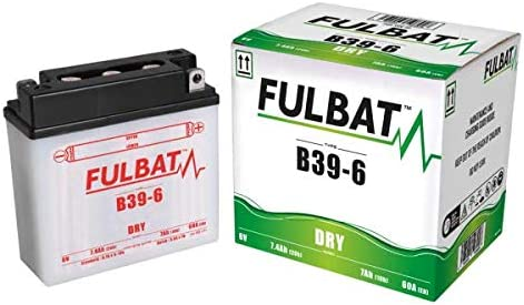 Fulbat Battery Moto B39 6 6 V 7 Ah Auto