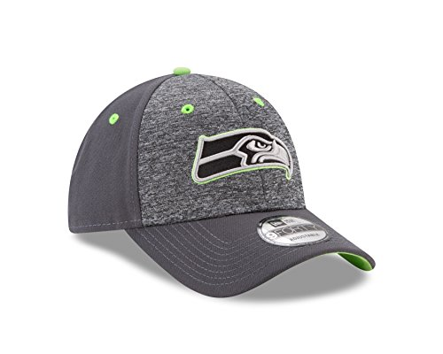 NFL Seattle Seahawks Adult Men The League Shadow 2 9FORTY Adjustable Cap, One Size, Graphite