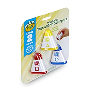 Crayola My First Washable Stampers, Self-inking Stamps, Art Supplies for Toddlers