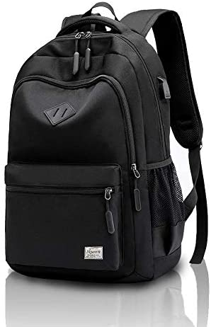 Waterproof Rucksack with USB Port Casual Daypack