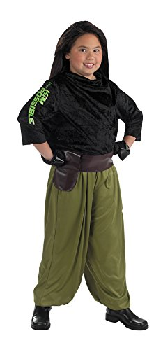 Kim Costume Halloween Possible (Girls Kim Possible Agent Kids Child Fancy Dress Party Halloween Costume, S)