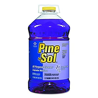 Pine-Sol 97301 All-Purpose Cleaner, 144 oz. Capacity, Lavender (Pack of 3)