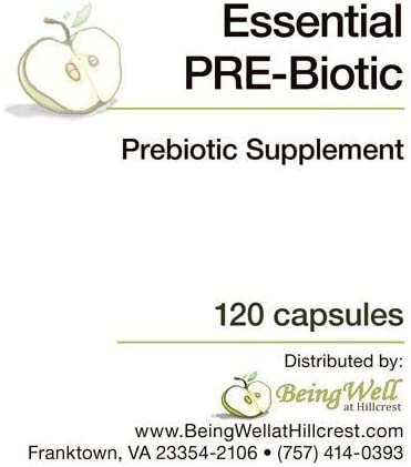 Essential PRE-Biotic Supplement 120 Capsules