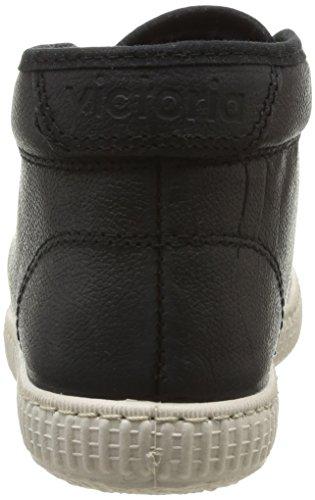 Victoria de Unisex Negro Chukka de Zapatillas Piel cuero Deporte qqPOzr