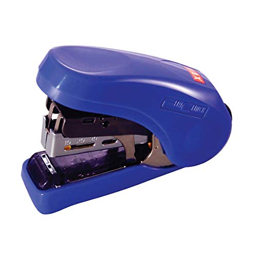 MAX MAX HD-10FL Blue Flat-Clinch Light Effort Stapler Blue