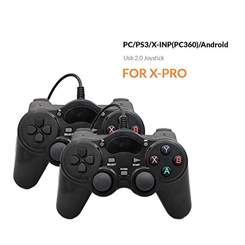 BAORUITENG Retro Game Console, HD Video Game Console 843 Classic Games 4K HDMI TV Output with 2PCS Joystick for a Great Gifi for Game Player (Black) by BAORUITENG (Image #4)
