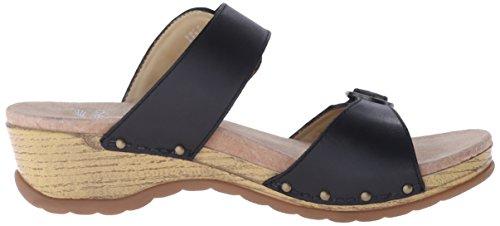 Sandalo Scorrevole Dansko Da Donna Manda Nero Pieno Fiore