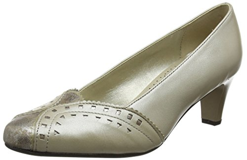 Padders Women's Janet Closed-Toe Heels Beige (Stone Prl) discount enjoy footlocker sale online Manchester online TEEncH