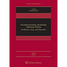 International Business Transactions: Problems, Cases, and Materials (Aspen Casebook)