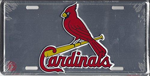St Louis Cardinals License (Aluminum St Louis Cardinals Frame)