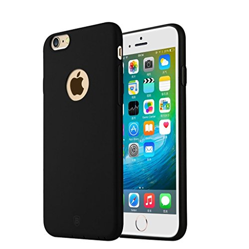 Baseus - ARAPIPH6S-MS01 Mousse Case - Silikon Case / Handyhülle - Apple iPhone 6, 6s - Olive Schwarz