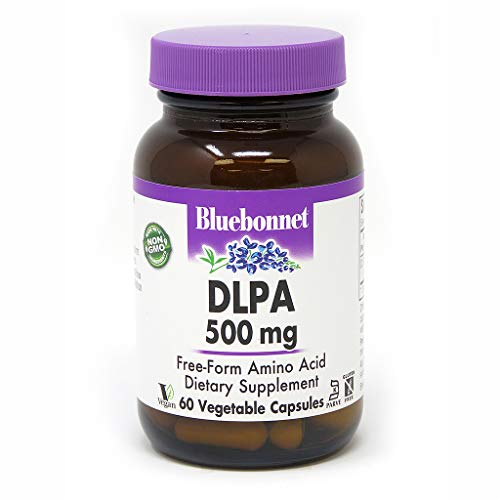 Bluebonnet DLPA 500 mg Vitamin Capsules, 60 Count ()