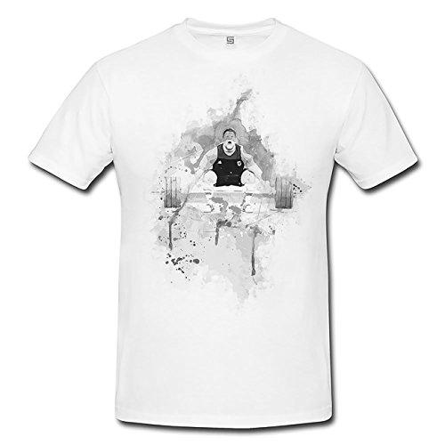 Gewichtheben II T-Shirt Herren, Men mit stylischen Motiv von Paul Sinus