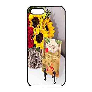 Iphone 5 Case,Hard PC Iphone 5 Protective Case for Ultimate ProtectiPhone 4 4S with flowerMaris's Diary
