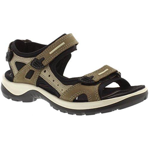 ECCO Women's Yucatan outdoor offroad hiking sandal, birch, 37 M EU/6-6.5 M -