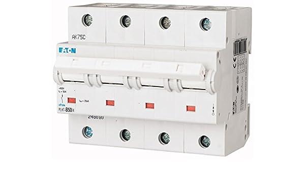 EATON PLHT-D50 Interruptor Automático Magnetotérmico PLHT, 1 Polo ...