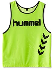 Hummel Fundamental Training - Camiseta de entrenamiento para niños, color neon yellow, talla S