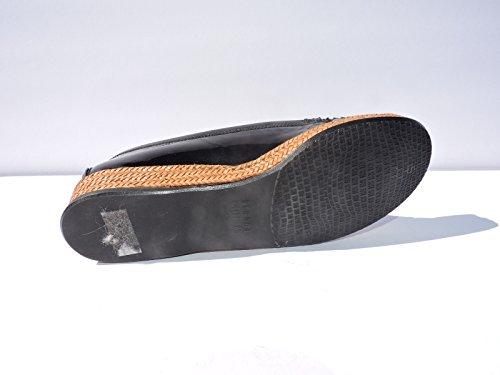 Stuart Weitzman Kvinners Geek Sorte Patent Loafers Flats Sko Størrelse 7,5 M
