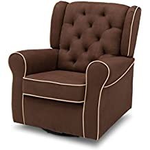 121 49 Essential Home Dunhill Swivel Glider With Ottoman