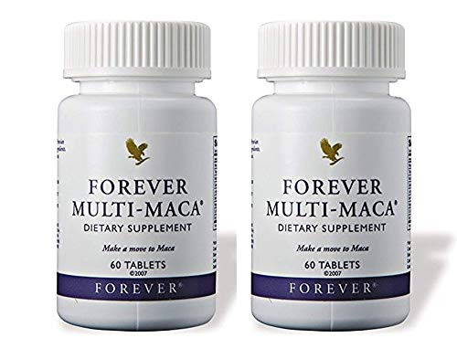 Forever Multi-Maca Dietary Supplement, Pack of 2 (120 Tablets) ()