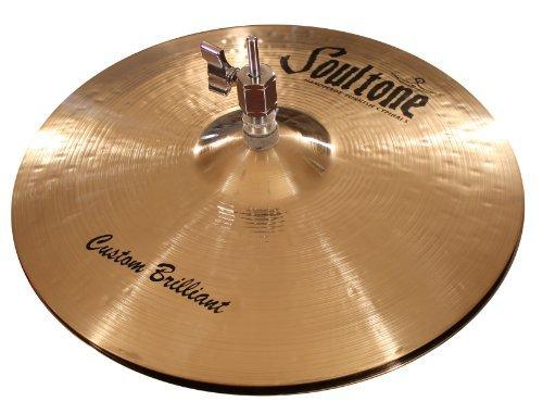 Soultone Cymbals CBR-HHT13-13 Custom Brilliant Hi Hats Pair [並行輸入品]   B07DXB4964