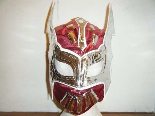 SOPHZZZZ TOY SHOP Red Sin Cara Childrens Wrestling Mask -