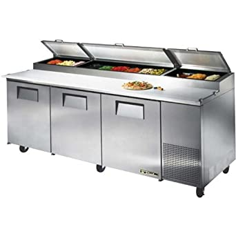Amazoncom True TPP Pizza Prep Tables Degree F To Degree - True pizza prep table