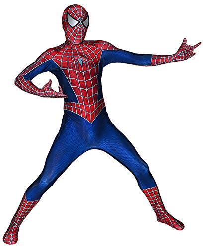 The Amazing Spider-Man Costume Kids Spider Man Suit Boys Spiderman Cosplay XL