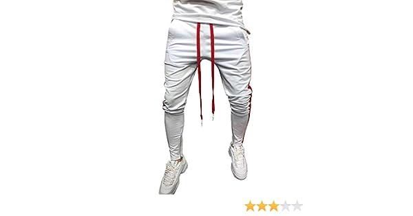 Pantalones Hombres Chandal Camuflaje Patchwork Color de Hechizo ...