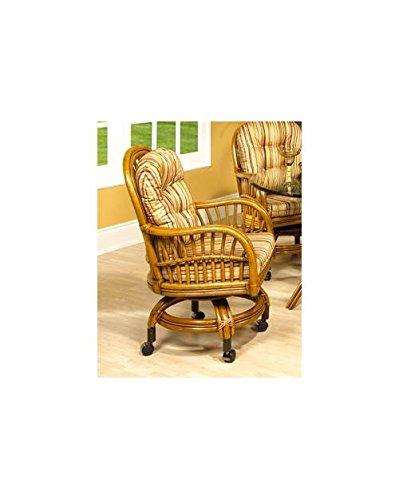 Antigua Rattan Game Chair in Royal Oak (Antigua Rattan Chair)