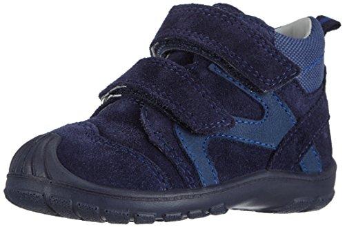 Superfit SOFTTIPPO - zapatillas de running de piel Bebé-Niñas azul - Blau (COSMOS KOMBI 91)