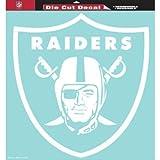 NFL Oakland Raiders Decal 8 X 8 Die Cut