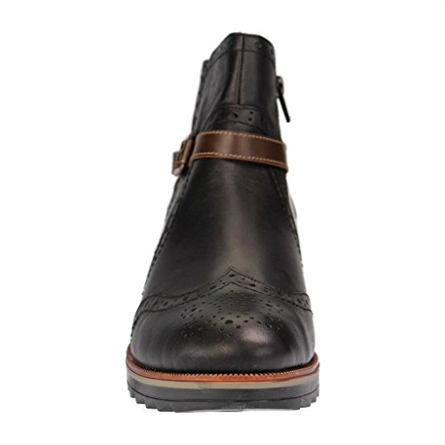 Remonte R2278 Womens black Leather Booties, 0