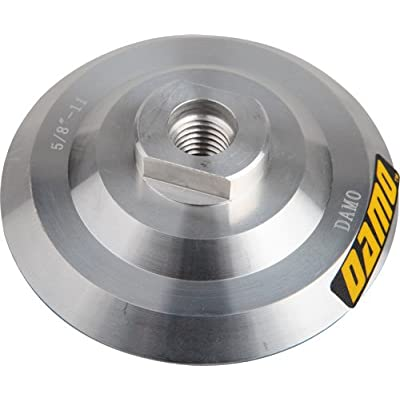 """4"""" DAMO Aluminum Back Holder/Backer Pads for Diamond Polishing Pads: Home Improvement"""