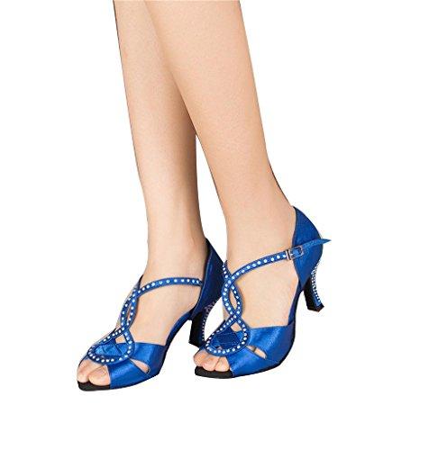 Monie 7 Blue 5cm Salle bal de femme TIxfIwZrq
