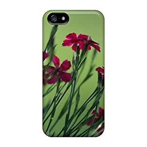 LastMemory Case For Iphone 5/5s With Nice Small Field Flowers Appearance wangjiang maoyi
