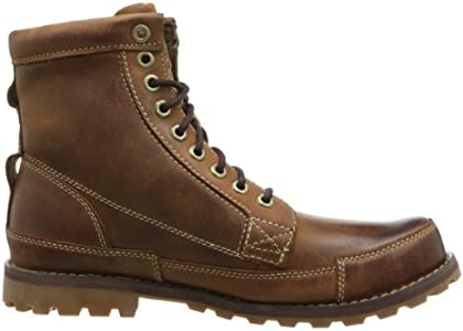 Timberland Men's Earthkeepers Rugged Boot, Red Brown, 10.5 M