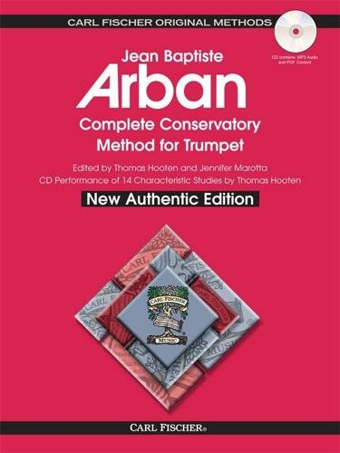 Carl Fischer Arban Complete Conservatory Method For Trumpet Spiral Bound -