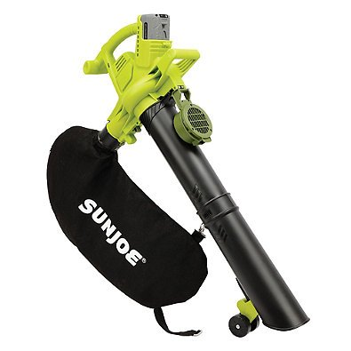 Sun Joe® iON 2-Speed 40-Volt Cordless 3-in-1 Electric Blower/Vacuum/Mulcher in Green Perfect for light-duty household activities by Sun Joe