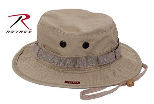 Rothco Vintage Boonie Hat, Khaki, 7.75