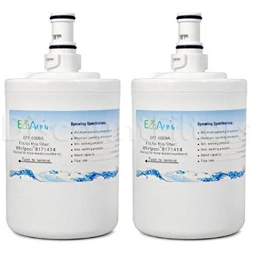 EcoAqua EFF-6009A Whirlpool 8171414 9002 Comparable Refrigerator Filter 2 Pack ;from#amburgersales