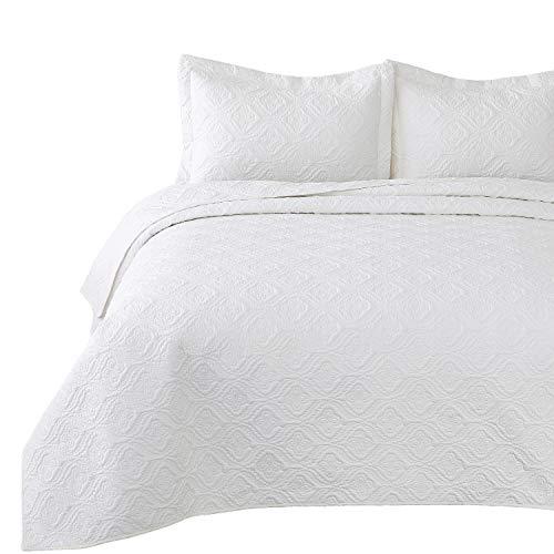 Bedsure 3 Piece Reversible Quilt Set Queen/Full Size (90