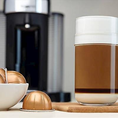 Nespresso GCC1-US-BK-NE VertuoLine Evoluo Deluxe Coffee and Espresso Maker, Black by Nespresso